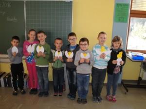 Wir wünschen allen Eltern, Lehrern und Schülern ein frohes Osterfest. 2b - Klasse der VS Radenthein