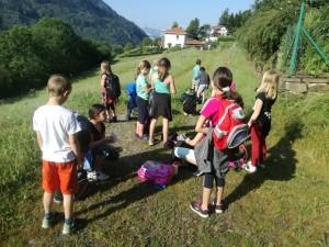 Nach einer kurzen Trinkpause am Dabor, gings weiter auf den Laufenberg