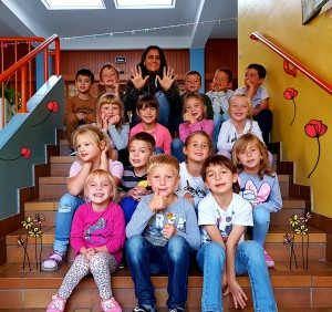 1b Klassenlehrerin Renate Bayer