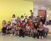 Ausschnitt aus einen der zahlreichen Workshops des Schuljahres 2017/18: Zirkus Dimitri